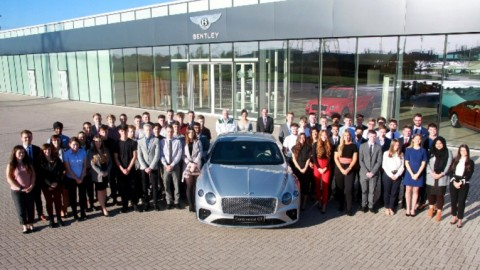 Bentley, Mejor Empleador de Bacarios de UK