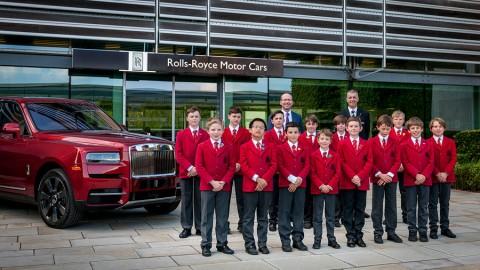 Rolls&Royce en ayuda de la Catedral de Chichester