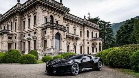 Villa d´Este se rinde a la Voiture Noir