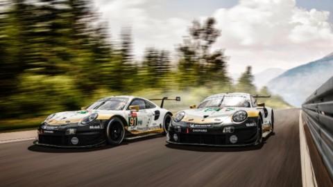 Porsche lista para Le Mans 2019