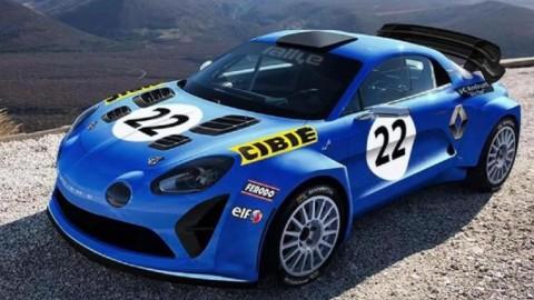 Alpine vuelve a los Rallyes