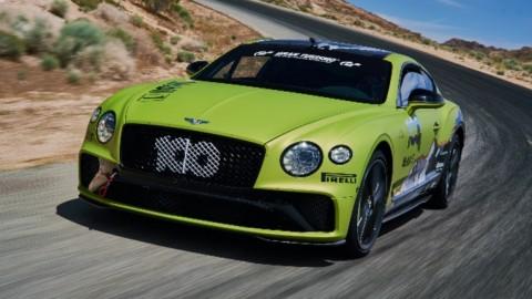 El nuevo Continental GT a por un Récord