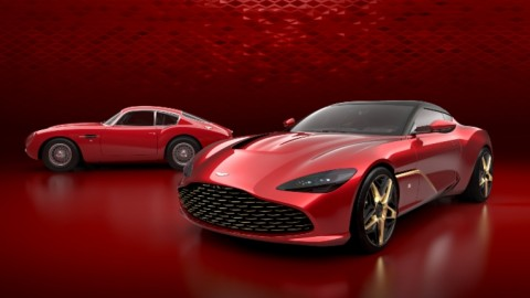 Zagato DBZ Centenary Collection by Aston Martin