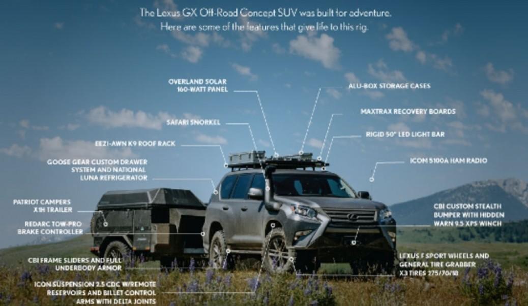 Lexus GXOR, la Aventura 4×4 de Lujo