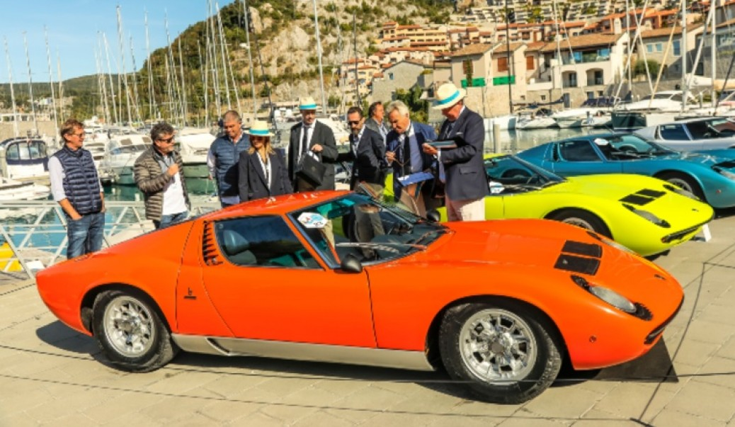 Un 350 GT de 1964 Ganador del Lamboghini&Design Concorso d´Eleganza del 2019