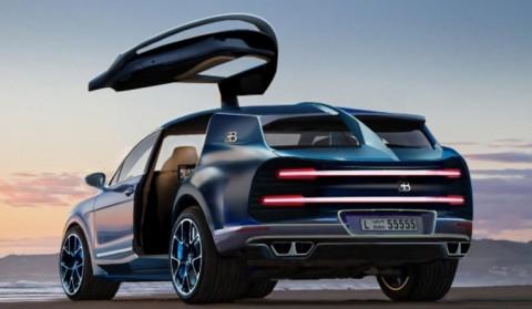 Bugatti y su SUV. Eléctrico?