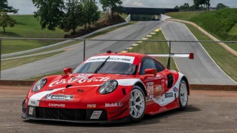 Porsche USA y Coca Cola juntas otra vez en Petit Le Mans