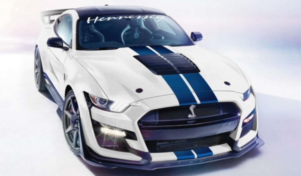 Ford Mustang Shelby GT500 by Hennessey