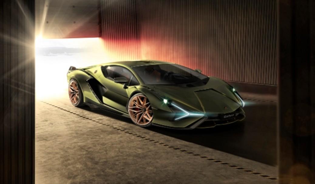 Lamborghini Sian, Híbrido con Supercondesadores y un V12