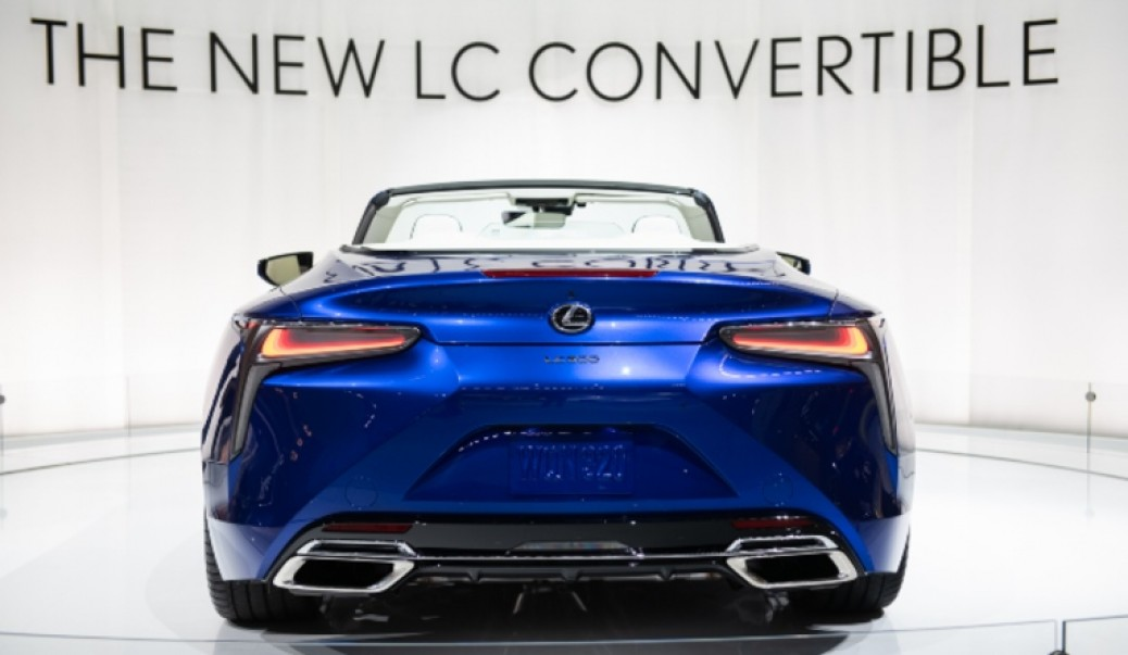 Lexus LC 500 Convertible, Aspiracional