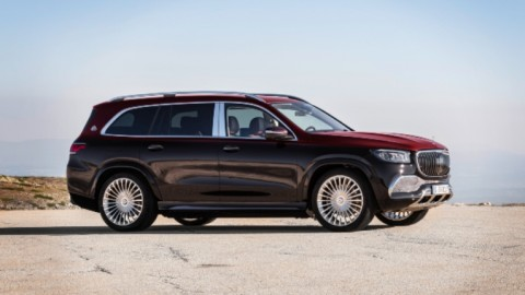 Mercedes Maybach GLS 600 Luxury Panzer