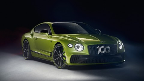 Bentley Continental GT. Pikes Pikes Record Holder Edition