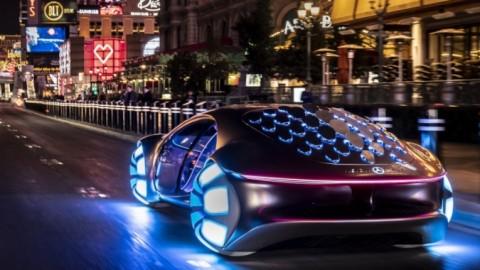 Mercedes-Benz VISION AVTR o el nuevo Toruk Makto