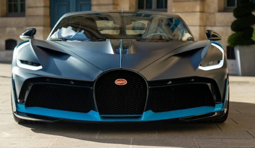 Bugatti Divo, listo para Correr.