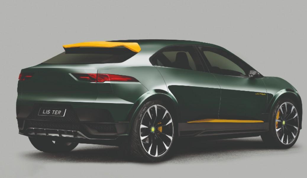 Jaguar I-Pace by Lister