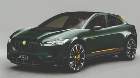 Jaguar I-Pace by Lister
