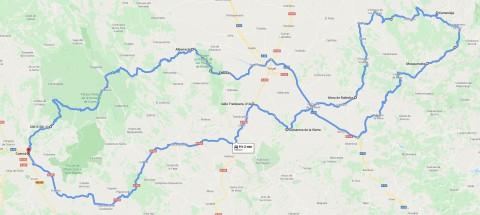 Ruta de las Sierras de Javalambre y Gúdar a la Serrania de Cuenca