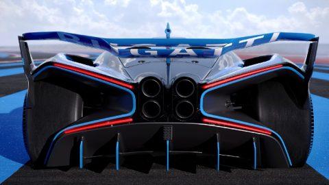 Bolide, el Track Car de Bugatti
