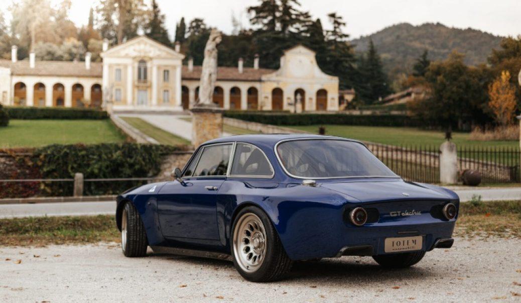 El Alfa Romeo Tipo 105 de Bertone se hace EV en Totem Automobili