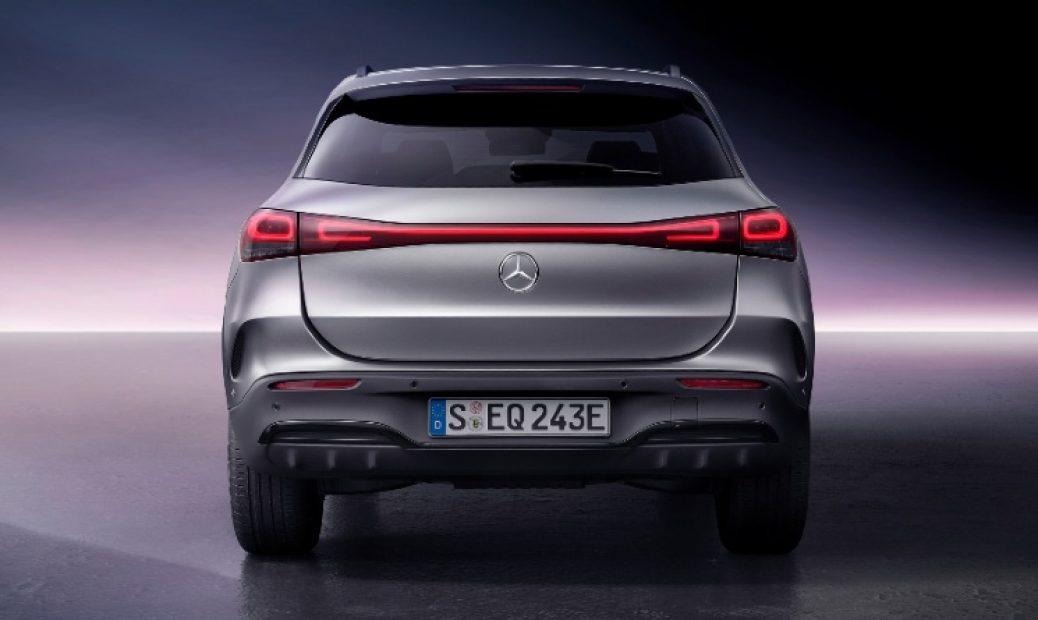 EQA el primero de la nueva saga EQ, los EV de Mercedes Benz
